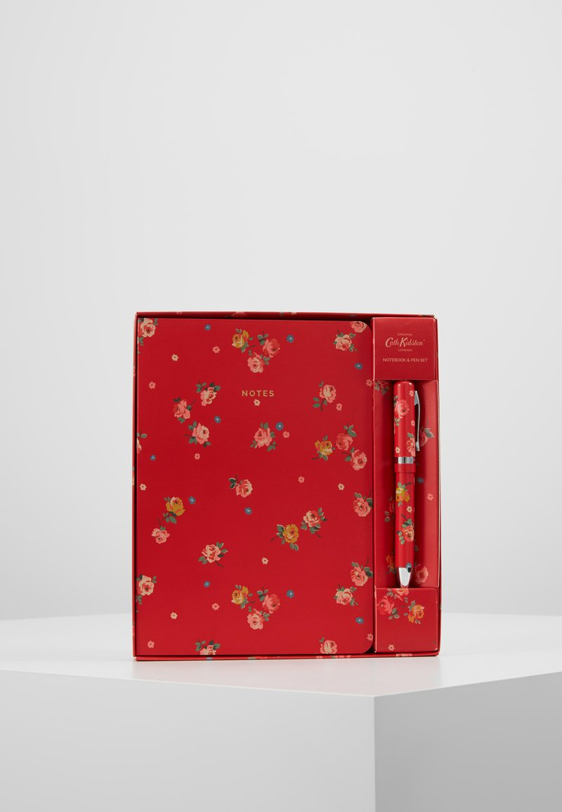 Cath Kidston - NOTEBOOK AND PEN SET - Accessoires - red