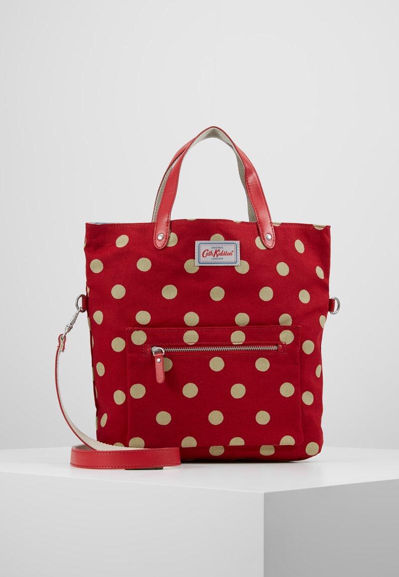 Cath Kidston - REVERSIBLE CROSS BODY - Handbag - berry