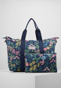 Cath Kidston - FOLDAWAY OVERNIGHT BAG - Shopping bags - navy - 6