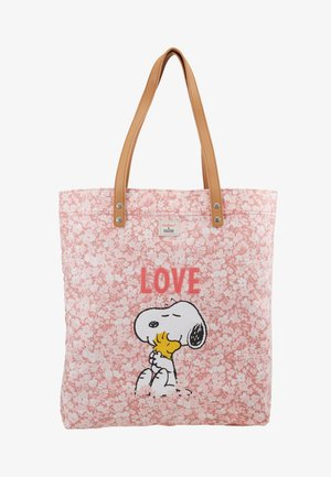 SNOOPY SIMPLE SHOPPER - Shoppingväska - washed pink