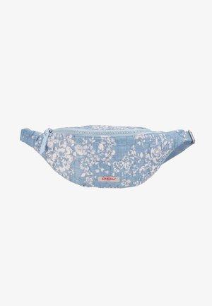 EMBROIDERED BUMBAG - Bum bag - blue