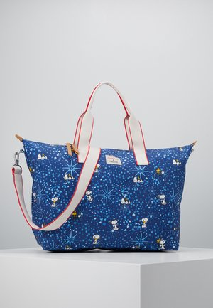 SNOOPY OVERNIGHT - Shopping bag - true navy