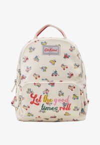 Cath Kidston - ROLLER SKATES SMALL POCKET BACKPACK - Ryggsekk - warm cream - 1
