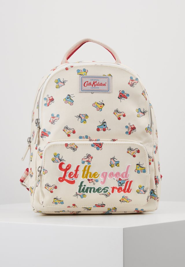 ROLLER SKATES SMALL POCKET BACKPACK - Tagesrucksack - warm cream
