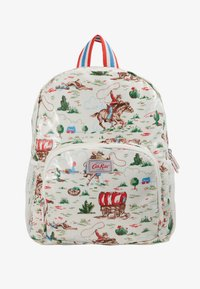Cath Kidston - KIDS CLASSIC LARGE WITH POCKET - Rucksack - off white/brown - 1