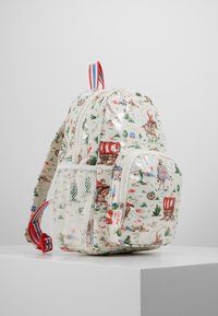 Cath Kidston - KIDS CLASSIC LARGE WITH POCKET - Rucksack - off white/brown - 4