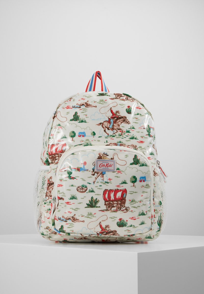 Cath Kidston - KIDS CLASSIC LARGE WITH POCKET - Rucksack - off white/brown