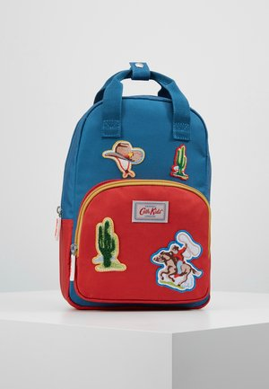 KIDS COWBOY BADGES MEDIUM BACKPACK - Mochila - blue