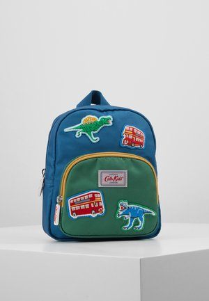 KIDS DINO BADGES MINI - Batoh - blue