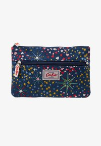 Cath Kidston - KIDS DOUBLE ZIP PENCIL CASE - Penál - navy