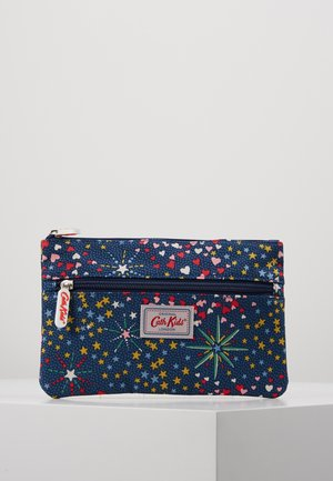 KIDS DOUBLE ZIP PENCIL CASE - Estuche escolar - navy