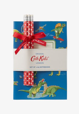 DINOS IN LONDON KIDS 3 PACK NOTEBOOKS - Jiné - cadet blue
