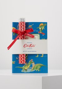 Cath Kidston - DINOS IN LONDON KIDS 3 PACK NOTEBOOKS - Accessoires - cadet blue - 0