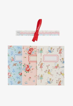 DINOS IN LONDON KIDS 3 PACK NOTEBOOKS - Accessoires - Overig - mint
