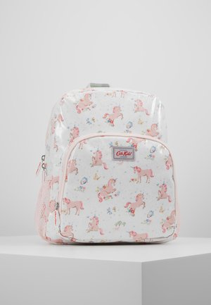 KIDS CLASSIC LARGE WITH POCKET - Reppu - white/light pink