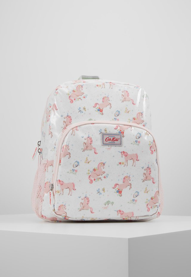 KIDS CLASSIC LARGE WITH POCKET - Tagesrucksack - white/light pink