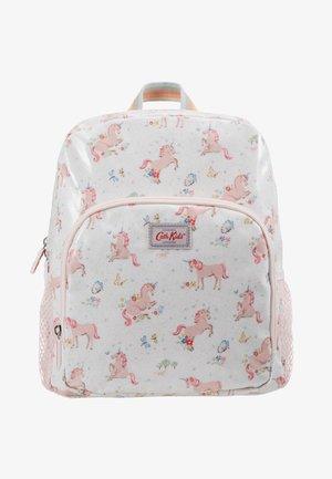 KIDS CLASSIC LARGE WITH POCKET - Plecak - white/light pink