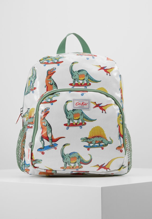 KIDS CLASSIC LARGE WITH POCKET - Rucksack - white/green
