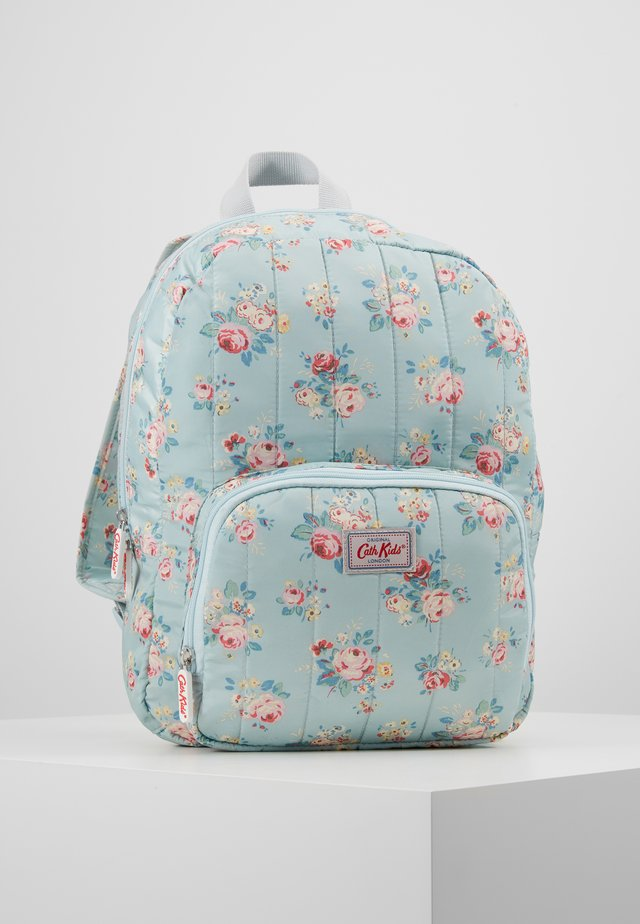 LARGE QUILTED - Rucksack - light blue/light pink