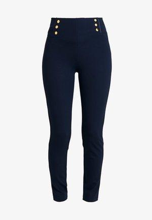 BASIC WITH BUTTONS - Leggings - Hosen - marine blue