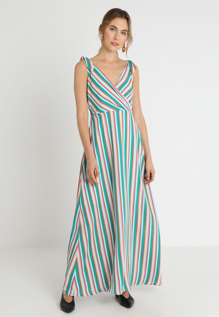 Cortefiel - SLEEVELESS LONG STRIPED DRESS - Vestito lungo - several