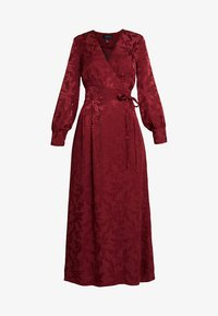 Cortefiel - WRAP STYLE LONG DRESS - Vestido largo - reds - 5