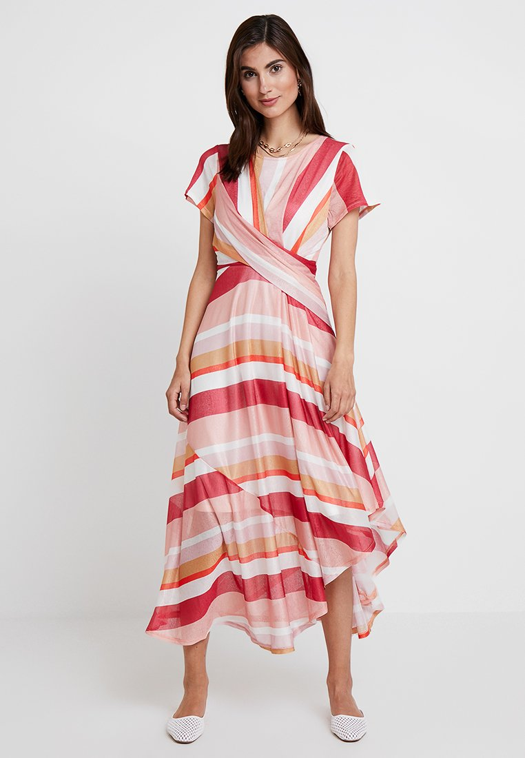 Cortefiel - STRIPED DRESS - Robe longue - several