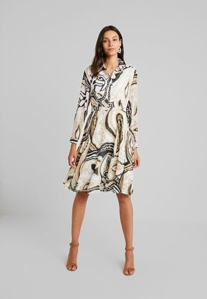 PRINTED DRESS - Vestido camisero - multi-coloured