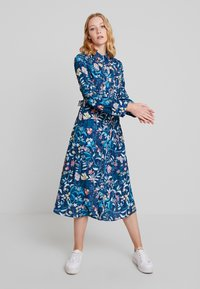 Cortefiel - PRINTED STYLE DRESS WITH BELT - Vestido camisero - several - 0