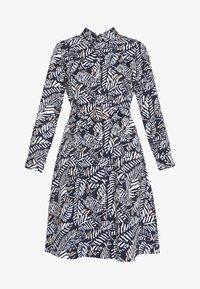 Cortefiel - PRINTED STYLE DRESS - Vestido camisero - blue - 4