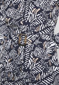 Cortefiel - PRINTED STYLE DRESS - Vestido camisero - blue - 5