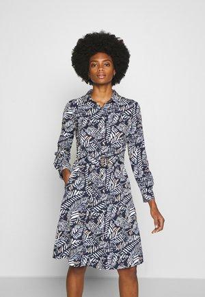 PRINTED STYLE DRESS - Vestido camisero - blue