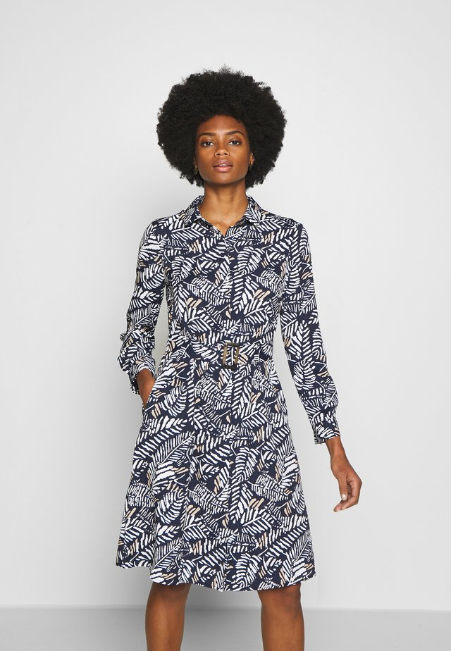 PRINTED STYLE DRESS - Vestido camisero - blue
