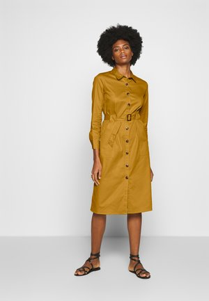 STYLE DRESS - Skjortekjole - yellow gold
