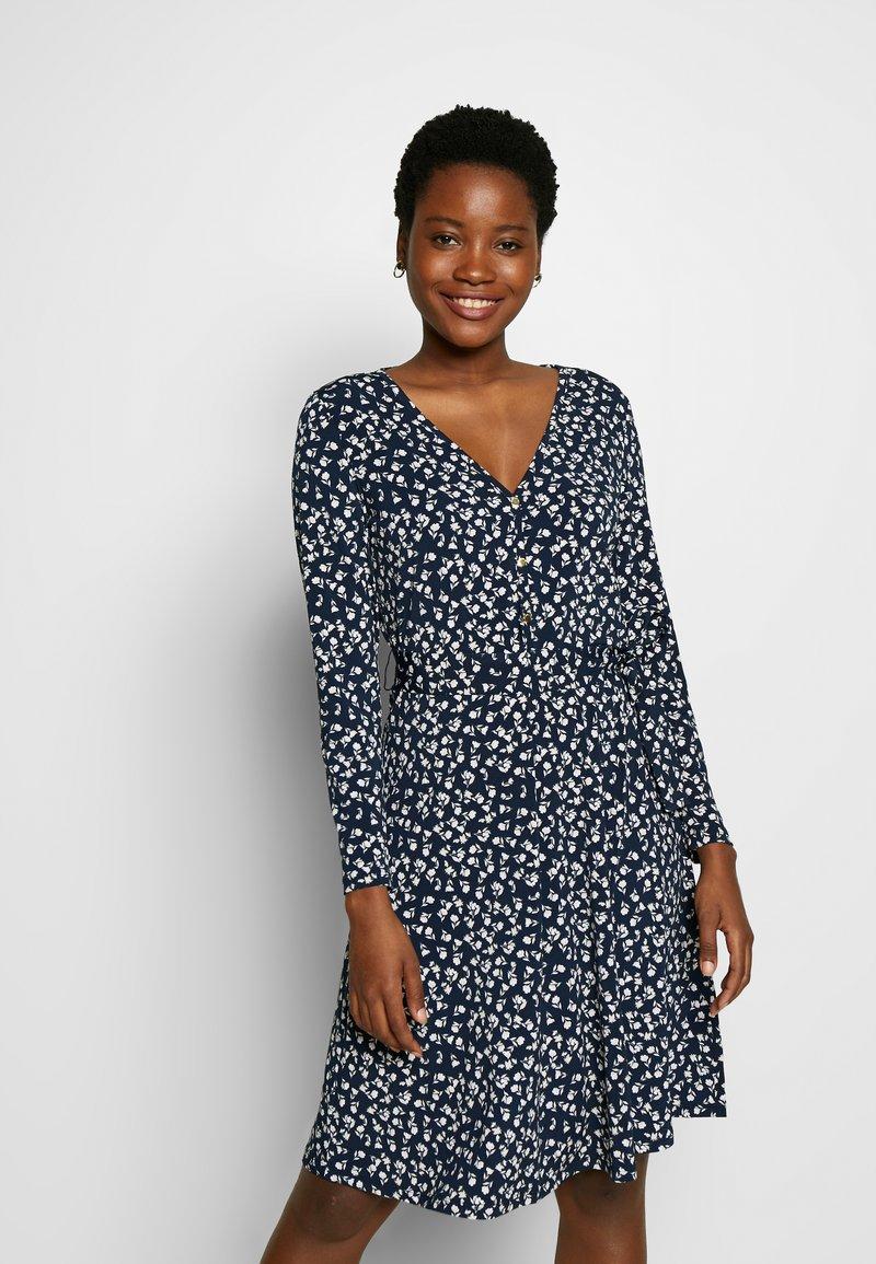 Cortefiel - PRINTED DRESS WITH BELT - Vestido ligero - multicoloured