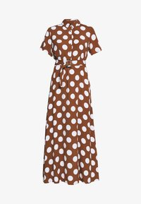 Cortefiel - PRINTED STYLE LONG DRESS - Maxikjole - tan - 5