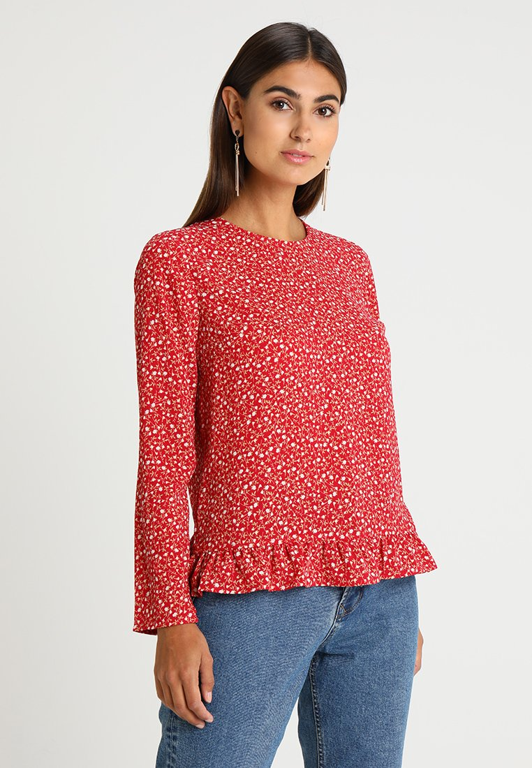 Cortefiel - BLOUSE - Bluse - reds