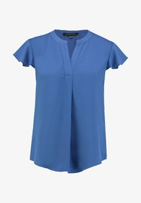 Cortefiel - BLOUSE WITH FRILLED SLEEVES - Blusa - blues - 4