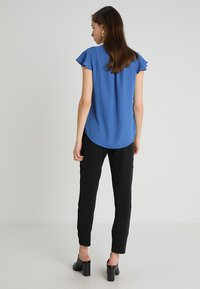Cortefiel - BLOUSE WITH FRILLED SLEEVES - Blusa - blues - 2
