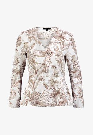 WRAP STYLE PRINTED BLOUSE - Bluser - several