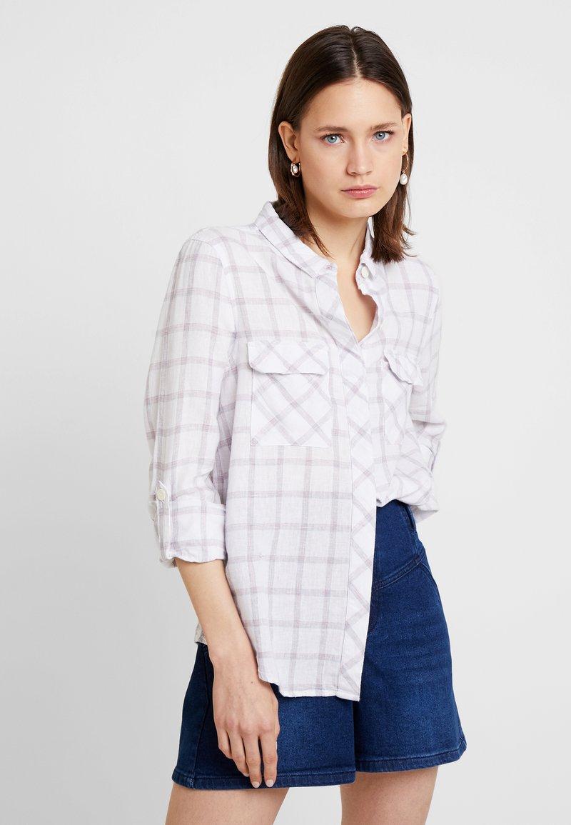 Cortefiel - BLEND BASIC - Skjortebluser - white