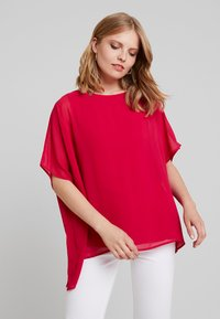 Cortefiel - CREW NECK  AND OVERSIZED - Bluser - pink - 0