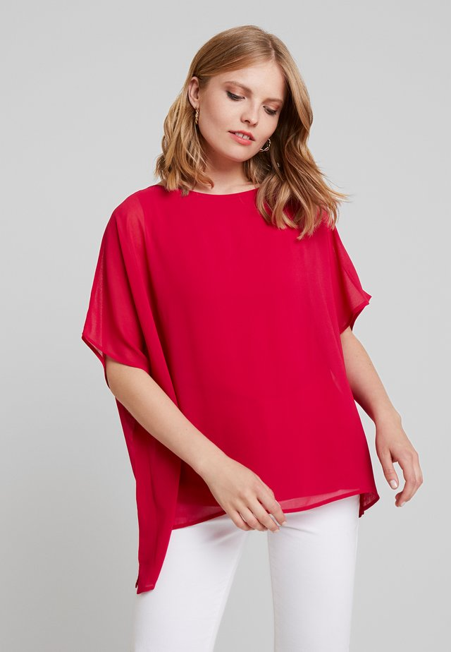 CREW NECK  AND OVERSIZED - Blouse - pink
