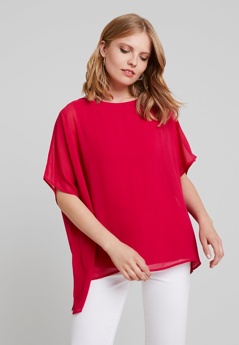 Cortefiel - CREW NECK  AND OVERSIZED - Bluser - pink