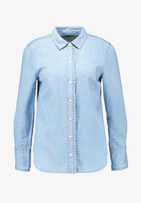 Cortefiel - BASIC WITH FRILLED PIPING - Camisa - blues - 5