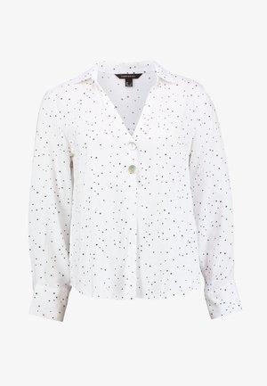 POLO NECK BLOUSE - Blouse - off-white