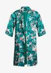 Cortefiel - LONG FLOWER PRINT KIMONO - Summer jacket - greens