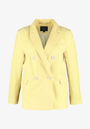 SUIT DOUBLE BREASTED - Blazer - yellows