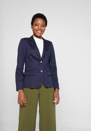 PRINTED PONTE TAILORED - Blazer - dark blue