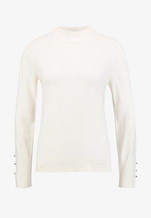 HIGH NECK JUMPER - Pullover - ivory